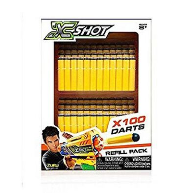 X-Shot 100 Darts Refill Pack