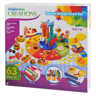 Universe of Imagination Deluxe Dough Food Set 63 Pieces