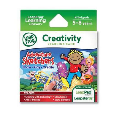 LeapFrog Exp Sw-Adventure Sketchers