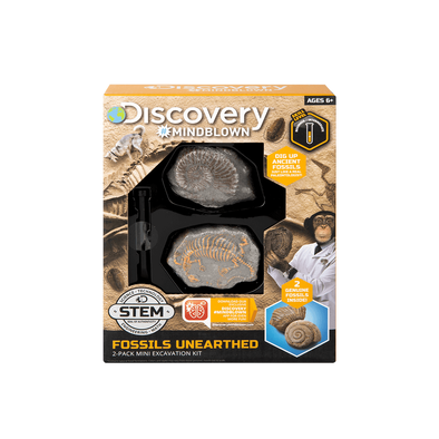 Discovery Mindblown Excavation Mini Fossil