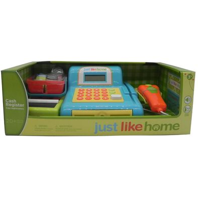 Just Like Home Cash Register - Blue