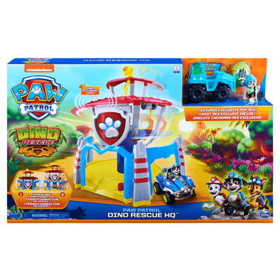 Paw Patrol Dino Rescue HQ Playset