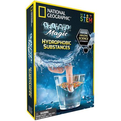National Geographic Hydrophobic Substances