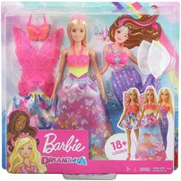 Barbie Dreamtopia Dress Up Doll Gift Set Blonde