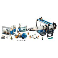 LEGO City Rocket Assembly and Transport 60229