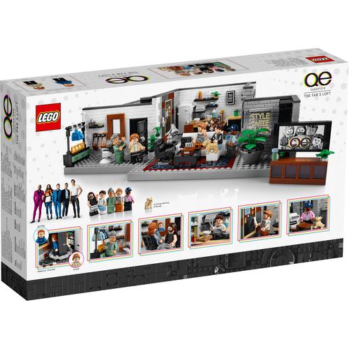 LEGO Queer Eye The Fab 5 Loft 10291