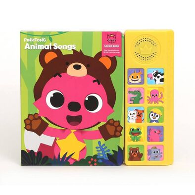 Pinkfong Sound Book Animal Songs