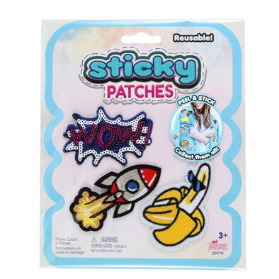 Sticky Patches Banana 123