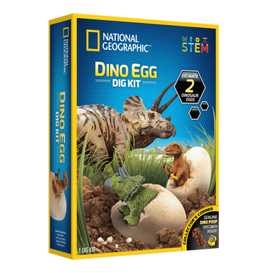 National Geographic Dinosaur Egg Dig Kit