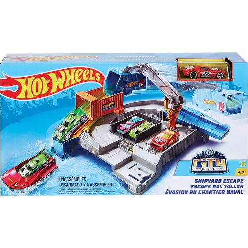Hot Wheels City EMC Themed Playset - Assorted