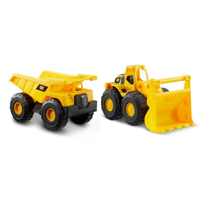 Cat Construction Fleet 10 Inch Vehicle 2 Pack
