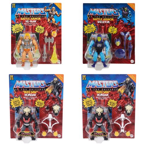 Masters Of The Universe Hyper-Retro Deluxe Figure Full Carton