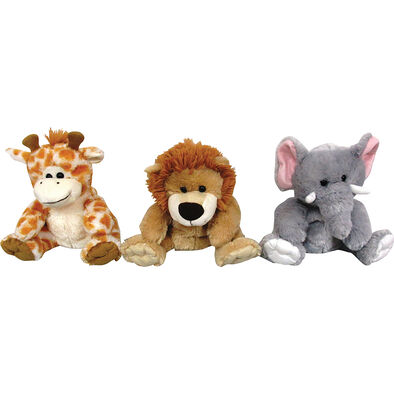 Animal Alley 8.5'Fluffy Hand Puppet - Assorted