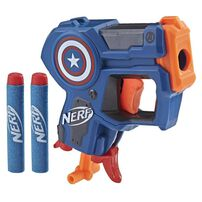 NERF Marvel Microshots (Iron Man/Spider-Man/Captain America) - Assorted