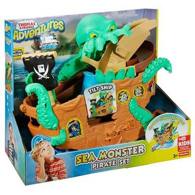 Thomas & Friends Adventures Sea Monster Pirate Set