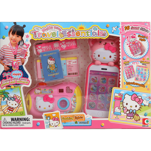 Hello Kitty Travel Essential Set
