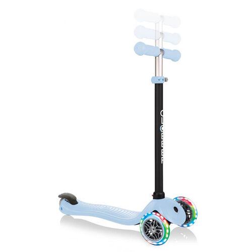 Globber Go•Up Sporty Lights Pastel Blue Toddler Scooter