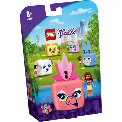 Lego Friends Olivia's Flamingo Cube 41662