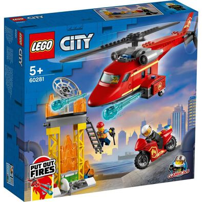 Lego City Fire Rescue Helicopter 60281