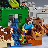 LEGO Minecraft The Creeper Mine 21155