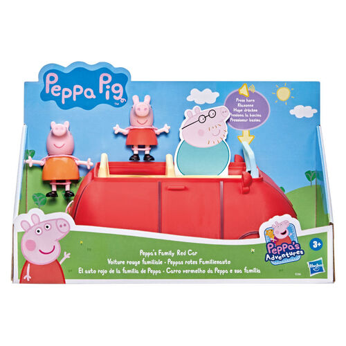 Peppa Pig Family Red Car