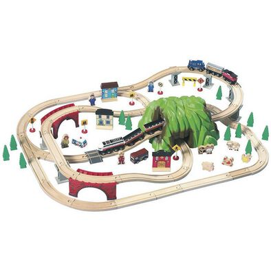 Universe of Imagination Mountain Pass Railroad Train Set