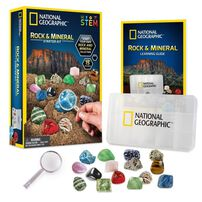National Geographic Rock and Mineral Starter Kit