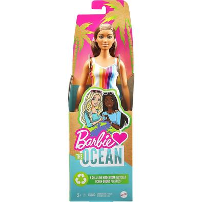 Barbie Loves The Ocean Beach-Themed Doll Curvy Brunette