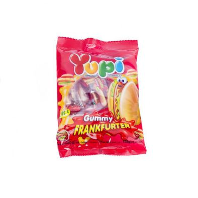 Yupi Gummy Candies - Gummy Frankfurter 108G