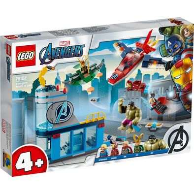 LEGO Marvel Avengers Movie 4 Avengers Wrath of Loki 76152