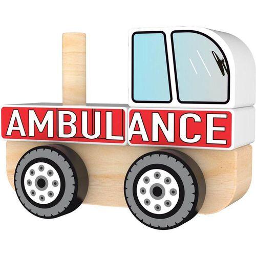 J'adore Ambulance Stacking Sorter Truck