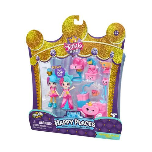 Shopkins Happy Places Squirrel Palace Party