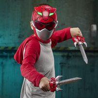 Power Rangers Beast Morphers Red Ranger Training Set