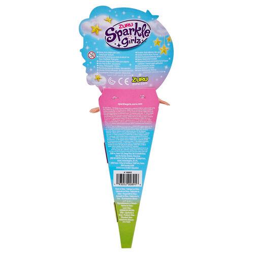 "Sparkle Girlz 10.5"" UnicornPrincess In Cone"
