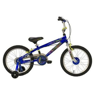 Kent 18 Inch Wired Black/Blue Boys Bike