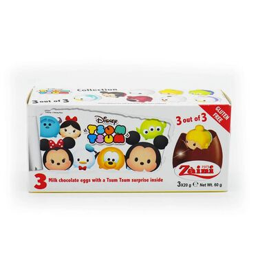 Zaini Tsum Tsum Milk Chocolate Eggs