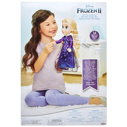 "Disney Frozen 2 ""Into The Unknown"" Elsa Doll"