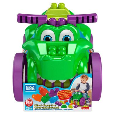 Mega Bloks First Builders Ride 'N Chomp Croc