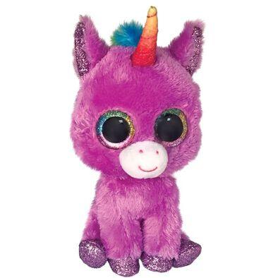 Ty Push Beanie Boos 6 Inch Regular Size Rosette Purple Unicorn