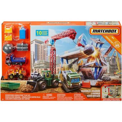 Matchbox Downtown Demolition Playset