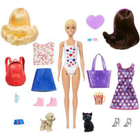 Barbie Ultimate Color Reveal Dog Park to Movies Surprise Doll