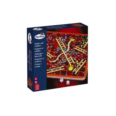 Pavilion Wooden Snakes And Ladders