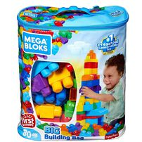 Mega Bloks Classic Big Building Bag 80 Pieces