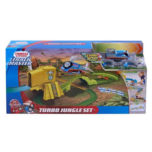 Thomas & Friends Track Master Turbo Jungle Set