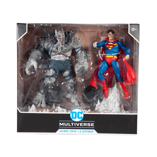 DC McFarlane Multiverse Batman Earth 1 & Superman