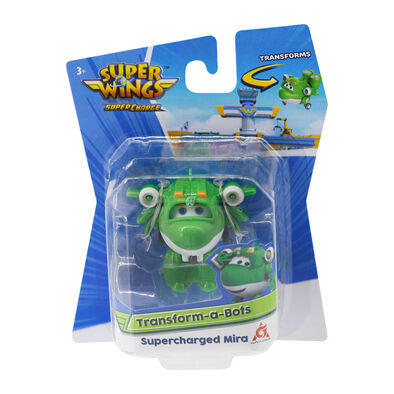 Super Wings Transform-A-Bots Supercharged Mira