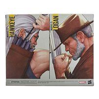 Marvel Legends Series X-Men Hawkeye and Logan