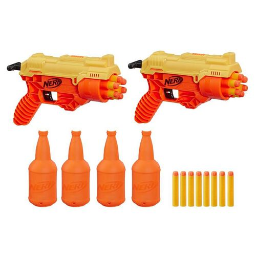 NERF Alpha Strike 26-Piece Cobra RC-6 Dual Targeting Set