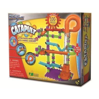 The Learning Journey International Techno Gears Marble Mania Catapult