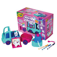 Crayola Painted Variety Pet Grooming Fat Truck